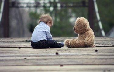 Boy and Teddy